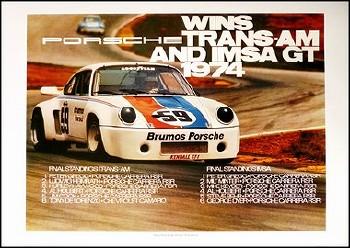 Sieg Bei Trans-am Und Imsa Gt 1974 - Porsche Reprint