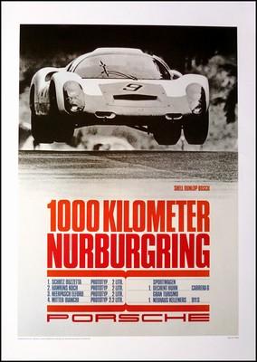 1000 Km Nürburgring 1967 - Porsche Reprint