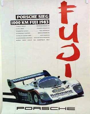 Porsche Original 1983 - Sieg 1000 Km Fuji - Lädiert