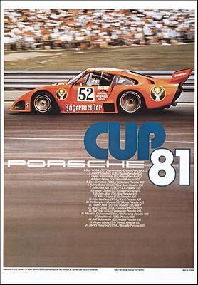 Porsche Cup 1981 - Porsche Reprint