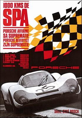 1000 Km Spa - Porsche Reprint