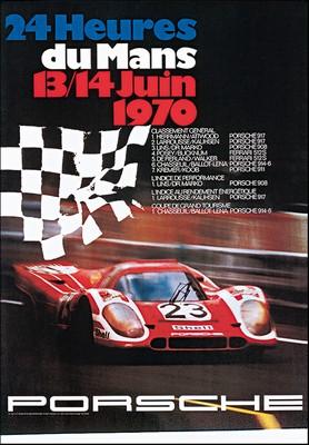 24 Stunden Von Le Mans 1970 - Porsche Reprint