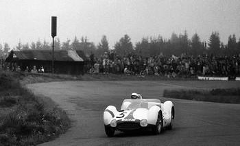 1000km Nürburgring 1960 - Maserati Birdcage Mit Moss Und Gurney