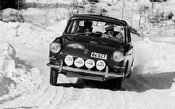 Schweden-rallye 1965 - Björn Waldegård Vw 1500 S