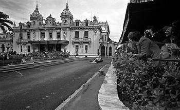 Monte Carlo Gp 1975 - Niki Lauda Im Ferrari 312t