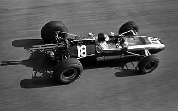 Italien Gp 1965 - Jochen Rindt Im Cooper T73 Climax