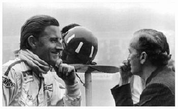 Großer Preis Von Deutschland 1968 - Colin Chapman Und Graham Hill