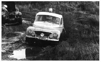 Rac Rallye 1963 - Austin Healey Morley/morley