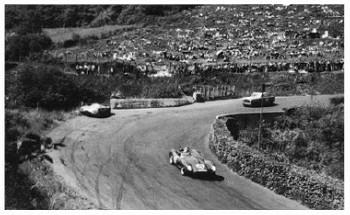 1000 Km Nürburgring 1958 - Ferrari Hawthorn/collins Und Borgward Hermann/bonnier
