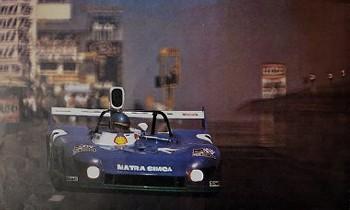 Bilstein Original 1975 G. Larousse, Nürburgring, Matra Ms 670