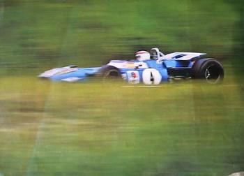 Motorsport Original 1969 Grand Prix Niederlande - Jackie Stuart