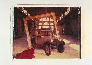 Bmw 3/15 Dixi Eillieferwagen 1928-1932 - Postkarte Reprint