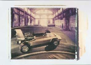 Bmw Formel 2 Dornier 1970 - Postkarte Reprint