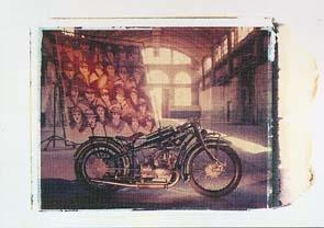 Bmw R 37 1925-1926 Motorrad - Postkarte Reprint