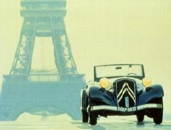 Citroen Mb Cabriolett 1938 - Postcard Reprint
