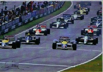 Depart F 1 Race