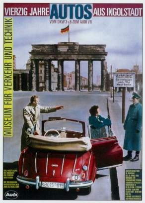 Dkw 3=6 Werbung 1986 Audi