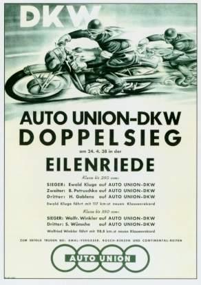 Dkw Motorrad Werbung 1938 Audi