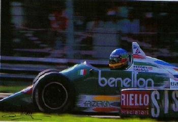Gerhard Berger On Benetton Race