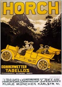 Horch Advertisement 1905