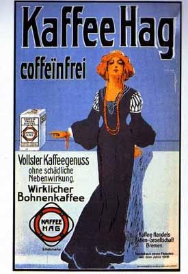 Klassische Werbung Küche Kaffee Hag