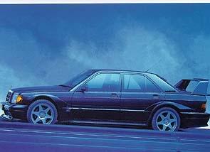 Mercedes Evolution Ii Mb W - Postcard Reprint