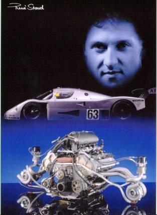 Michael Schumacher Fuhr Im Mercedes - Postkarte Reprint
