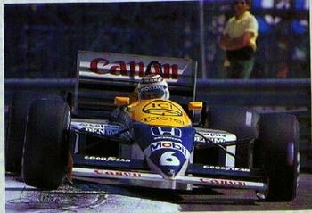 Nelson Piquet Auf Williams Rennen