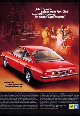 Opel Manta A 1975