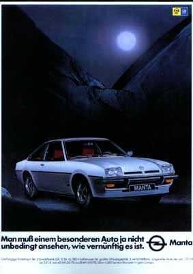 Opel Manta B 1977