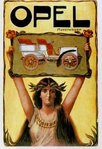Opel Motorwagen Um 1900