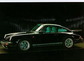 Porsche 911 - Postkarte Reprint