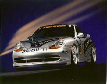Porsche 911 Gt 3 993 - Postcard Reprint