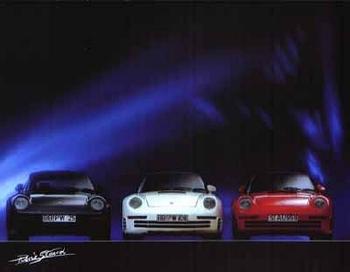 Porsche 959 - Postcard Reprint