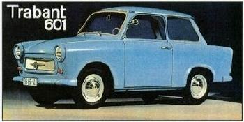 Trabant 601 1971 - Postkarte Reprint