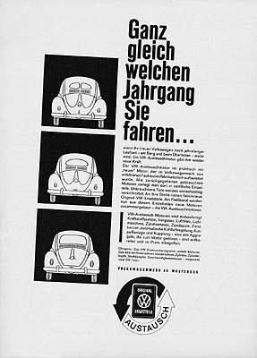 Vw Käfer 1961