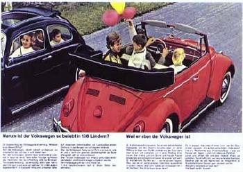 Vw Volkswagen Beetle 1963
