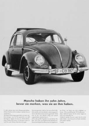 Vw Volkswagen Beetle Advertisement