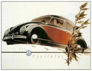 Vw Volkswagen Käfer Werbung 1953