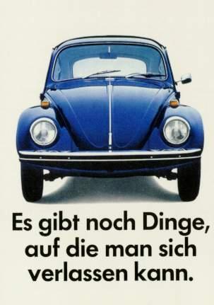Vw Volkswagen Beetle Advertisement 1970