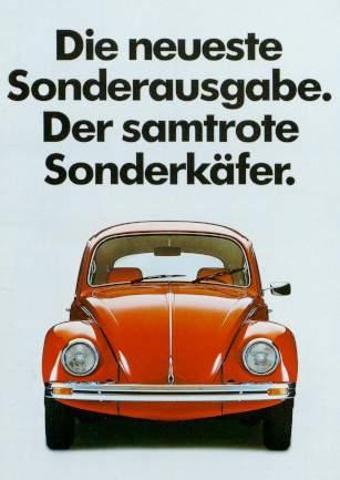 Vw Volkswagen Beetle Advertisement 1983