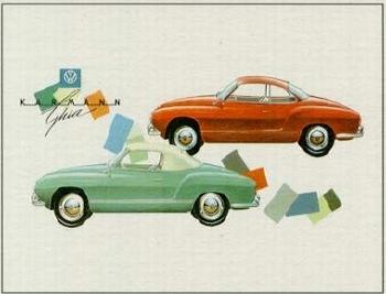Vw Volkswagen Karmann Ghia Advertisement