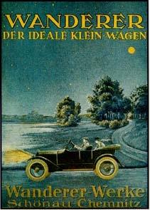 Wanderer Advertisement 1925 Audi Automobile