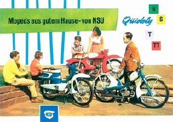 Nsu Quickly 1960 - Postcard