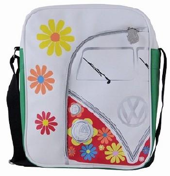 Vw Transporter Van Shoulder Bag - Flower Power