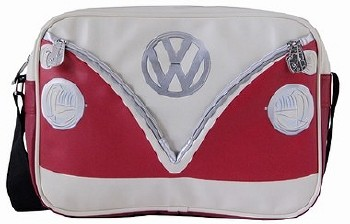 Vw Transporter Van Shoulder Bag - Red