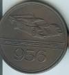Original Porsche Calendar Coin 1984