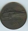Original Porsche Calendar Coin 1990