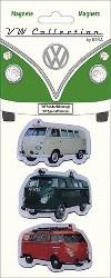 Vw Transporter Van Magnet Set - Volkswagen Van