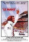 Le Mans, Steve Mcqueen - Filmposter